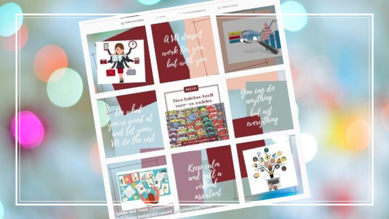 In 3 stappen een collage lay-out voor Instagram