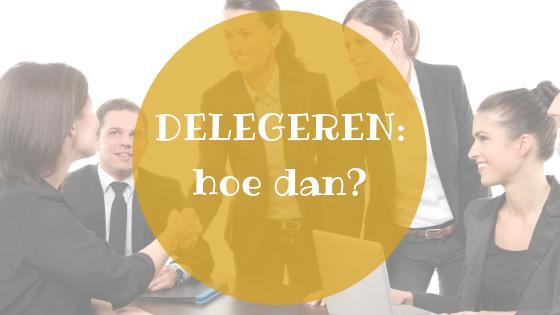 Delegeren: hoe dan? (2)