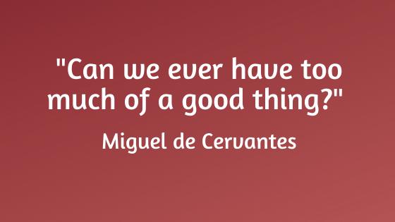 quote de Cervantes
