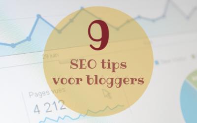 9 SEO tips voor bloggers