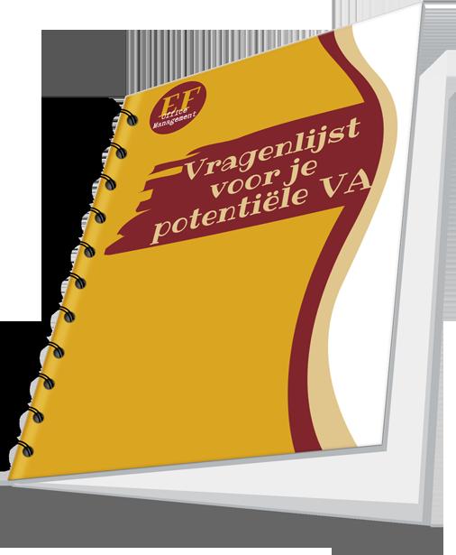 Vragenlijst voor je potentiële VA - cover