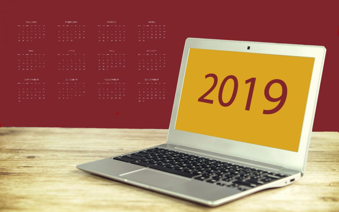 Plan al je blogs voor 2019