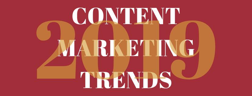 Samenvatting van Content Marketing Trends van 2019