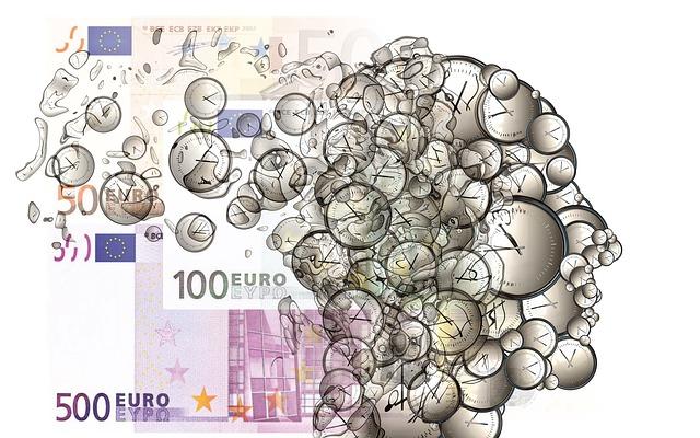 tijd en geld hoofd
